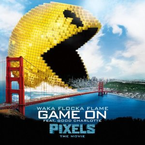 """Listen to Game On (feat. Good Charlotte) [from """"Pixels - The Movie""""] song with lyrics from Waka Flocka Flame"""