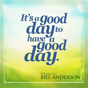 Album It's a Good Day to Have a Good Day from Bill Anderson