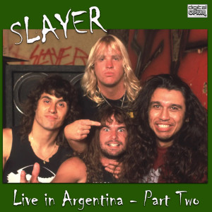 Slayer的專輯Live in Argentina - Part Two