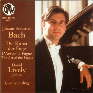 Album Bach: Die Kunst der Fuge, L'Art de la Fugue, The Art of the Fugue from David Lively
