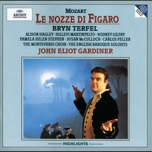 Album Mozart: Le Nozze di Figaro (Highlights) from English Baroque Soloists