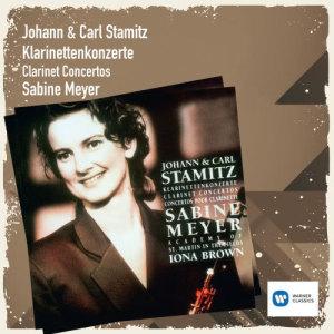 Sabine Meyer的專輯Johann & Carl Stamitz: Klarinettenkonzerte Vol. 1