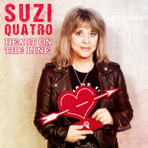 Album Heart on the Line from Suzi Quatro