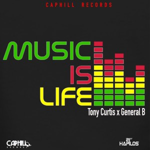 Album Music Is Life - Single from Tony Curtis