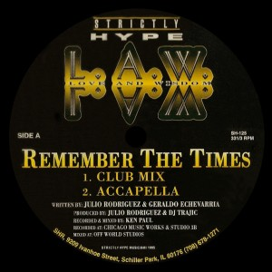 Album Remember the Times from L.A.W.