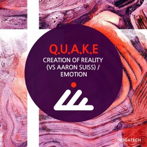 Album Creation of Reality / Emotion from Q.U.A.K.E