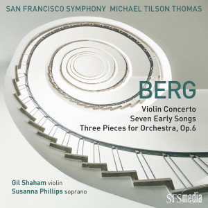 San Francisco Symphony的專輯Berg: Violin Concerto, Seven Early Songs & Three Pieces for Orchestra