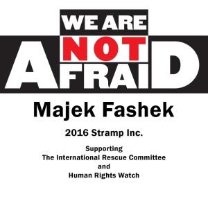 Album We Are Not Afraid from Majek Fashek