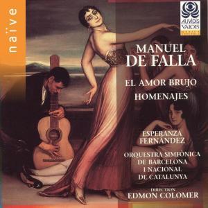 Esperanza Fernandez的專輯De Falla: El Amor Brujo & Homenajes