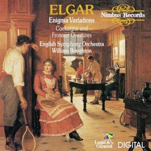 English Symphony Orchestra的專輯Elgar: Enigma Variations, Cockaigne & Froissart Overtures