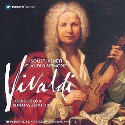 Claudio Scimone的專輯Vivaldi : Concertos & Sonatas Opp. 1 - 12 Volume 1