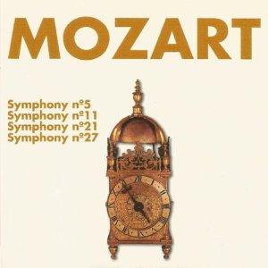 Album Mozart - Symhony Nº 5, Nº 11, Nº 21, Nº 27 from Concertgebouw Chamber Orchestra