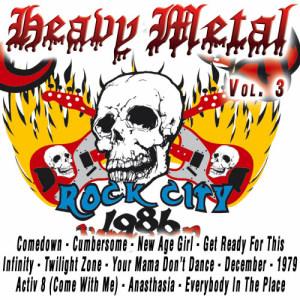 Album Heavy Metal Vol.3 from Warriors of Heavy