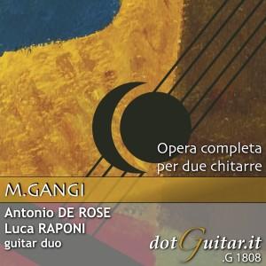 Album Omaggio a Mario Gangi - Opera completa per due chitarre from Guitar