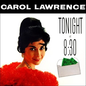 Album Tonight At 8:30 from Carol Lawrence