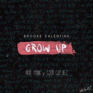 Album Grow Up - Single from Brooke Valentine