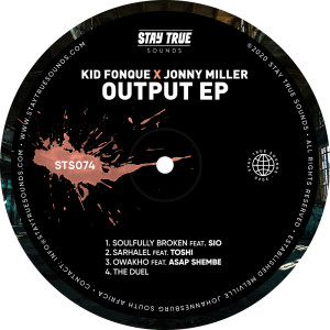 Album Output EP from Jonny Miller