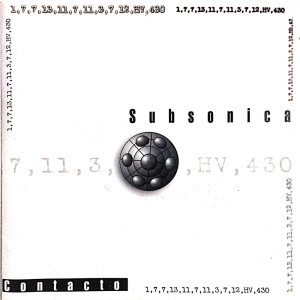 Album Contacto from Subsonica