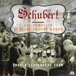 Album Schubert : Complete Secular Choral Works Volume 1 - 'Transience' from Arnold Schoenberg Chor