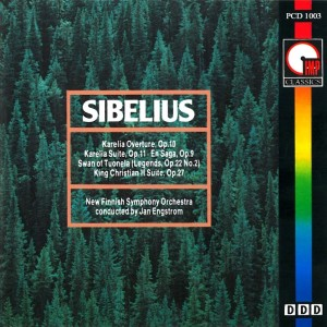 Album Sibelius: Karelia Overture and more from Jan Engstrom