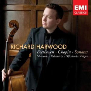 Album Cello and Piano Recital from Richard Harwood