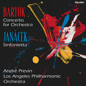 "Album Bartok: Concerto for Orchestra, Sz. 116 & Janáček: Sinfonietta, JW 6/18 ""Military"" from André Previn"