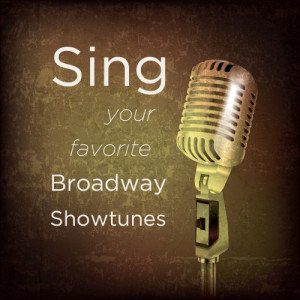 Album Sing Your Favorite Broadway Showtunes from Backtrack Professional Karaoke Band