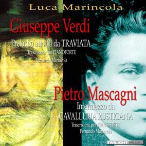 Luca Marincola的專輯Giuseppe Verdi e Pietro Mascagni