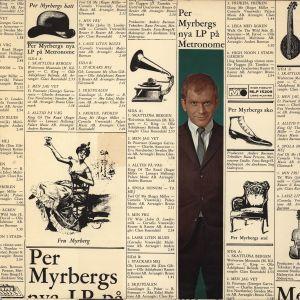 Album Per Myrbergs nya LP på Metronome from Per Myrberg