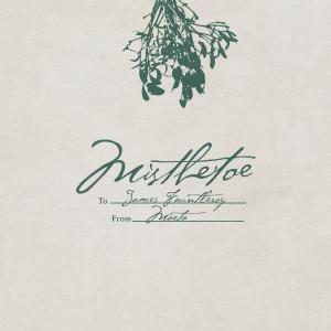Album Mistletoe from James Fauntleroy