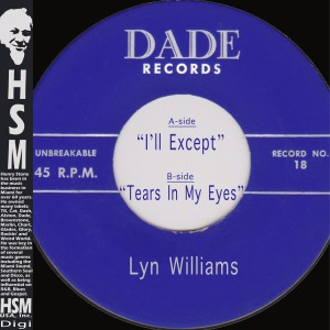 Album I'll Except / Tears in My Eyes from Lyn Williams