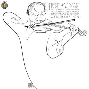 Album Mozart: Violin Concertos Nos. 2 & 4 from Isaac Stern