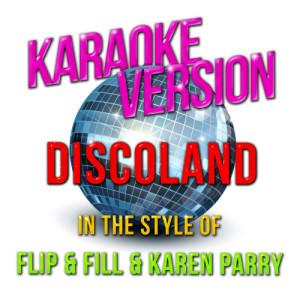 Karaoke - Ameritz的專輯Discoland (In the Style of Flip & Fill & Karen Parry) [Karaoke Version] - Single