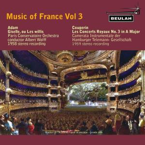 Album Music of France, Vol. 3 from Paris Conservatoire Orchestra