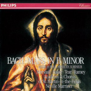 Album Bach, J.S.: Mass in B minor from Academy of St Martin-in-the-Fields Chorus
