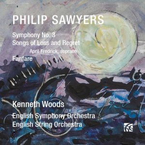 English Symphony Orchestra的專輯Sawyers: Symphony No. 3 / Songs of Loss and Regret
