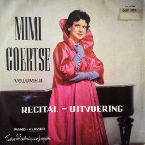 Album Uitvoering Recital from Mimi Coertse