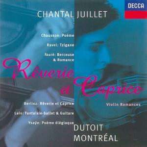 Album Fauré/Ysayë/Ravel/Lalo etc.: Rêverie et Caprice from Chantal Juillet