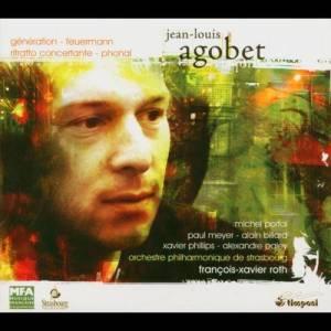 Album Jean-Louis Agobet: uvres pour orchestre from Orchestre Philharmonique De Strasbourg