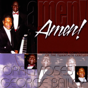 Album African-American Composers of the 20thCentury from Oral Moses