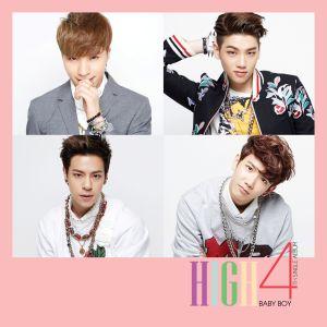 High4的專輯Baby Boy