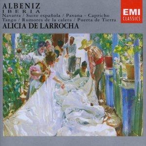 Alicia de Larrocha的專輯Iberia/Navarra/Suite Espanola Etc.