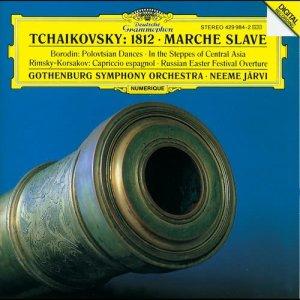 "Album Tchaikovsky: Overture ""1812""; Marche slave / Borodin: In the Steppes; Polovtsian Dances / Rimsky-Korsakov: Russian Easter; Capriccio from Torgny Sporsen"