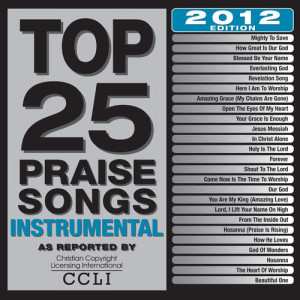 Album Top 25 Praise Songs Instrumental from Maranatha! Instrumental