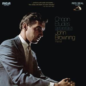 Album Chopin: Etudes, Op. 10 & Etudes, Op. 25 from John Browning