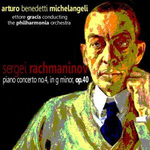 Album Rachmaninov: Piano Concerto No. 4 in G Minor from Ettore Gracis