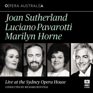 Album Live at the Sydney Opera House (Live) from Dame Joan Sutherland