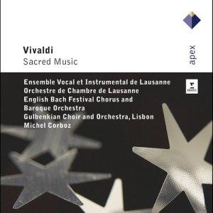 Album Vivaldi : Sacred music from Michel Corboz