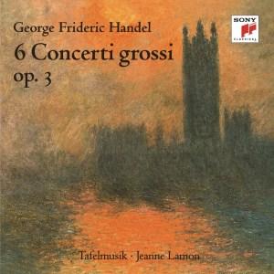 Album Händel: 6 Concerti grossi, Op. 3 from Tafelmusik Baroque Orchestra