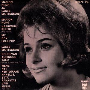 Album Marion Rung ja Lasse Mårtenson from Marion